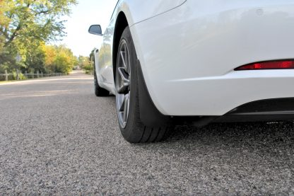 Model 3 mud flaps rear profile
